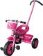 Детский велосипед с ручкой Sundays SN-TR-13 (розовый) -