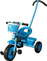 Детский велосипед с ручкой Sundays SN-TR-13 (голубой) -