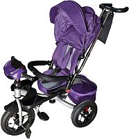 Детский велосипед с ручкой Sundays N-41-TR-01 (фиолетовый) -