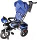 Детский велосипед с ручкой Sundays N-41-TR-01 (голубой) -