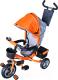 Детский велосипед с ручкой Sundays SN-4in1-TR-04 (оранжевый) -