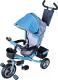Детский велосипед с ручкой Sundays SN-4in1-TR-04 (голубой) -