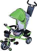 Детский велосипед с ручкой Sundays SN-4in1-TR-04 (зеленый) -