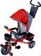 Детский велосипед с ручкой Sundays SN-4in1-TR-04 (красный) -