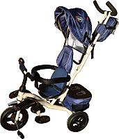 Детский велосипед с ручкой Sundays SN-4in1-TR-07 (синий) -