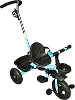 Детский велосипед с ручкой Sundays SN-2in1-TR-13 (голубой) -