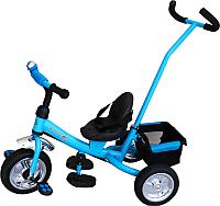 Детский велосипед с ручкой Sundays SN-2in1-TR-14 (голубой) -