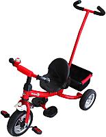 Детский велосипед с ручкой Sundays SN-2in1-TR-14 (красный) -