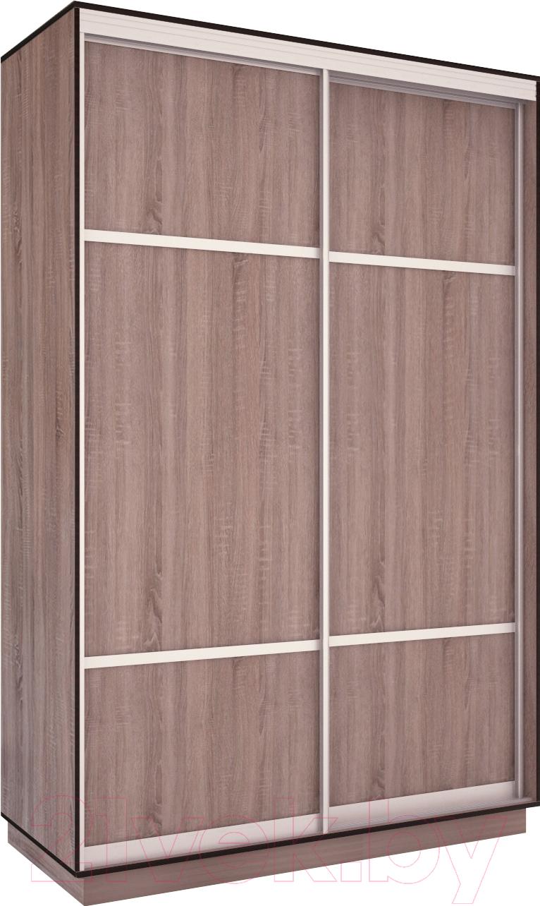 Шкаф Евва, 158 TS.03 / АЭП ШК.2 01 (трюфель/серебро), Беларусь  - купить со скидкой
