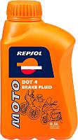 Тормозная жидкость Repsol DOT 4 BRAKE FLUID Repsol RP713A56 (500мл) -