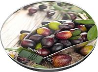 Кухонные весы Marta MT-1635 (черная олива) -