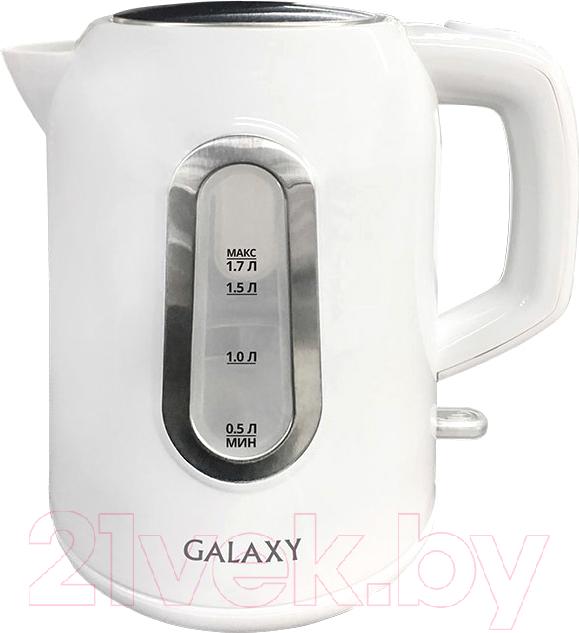 Купить Электрочайник Galaxy, GL 0212, Китай, белый