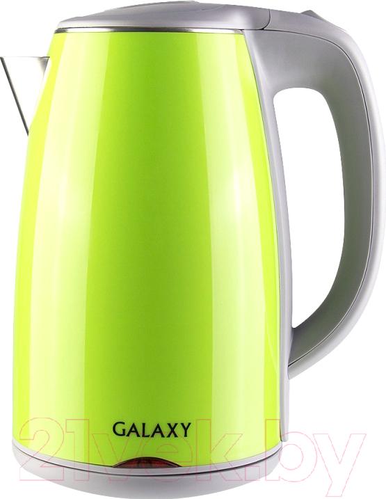 Купить Электрочайник Galaxy, GL 0307 (зеленый), Китай