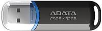 Usb flash накопитель A-data C906 32 Гб Black (AC906-32G-RBK) -