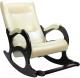 Кресло-качалка Calviano Бастион 2 с подножкой (bone) -