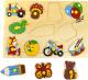 Развивающая игра Играй с умом Рамка-вкладыш Игрушки / 1400 -