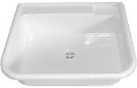 Раковина для дачи ЭлБЭТ Пластиковая М 36x42x14 (с выпуском) -
