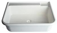 Раковина для дачи ЭлБЭТ Пластиковая 410x495x140 (с выпуском) -