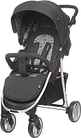 Детская прогулочная коляска 4Baby Rapid Premium (серебристый) -
