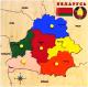 Развивающая игра Играй с умом Рамка-вкладыш Карта Беларуси / 5028 -