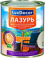 Лазурь для древесины LuxDecor Красное дерево (5л) -