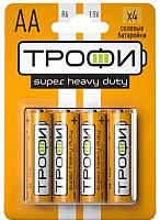 Комплект батареек Трофи R6-4BL / C0033716 -