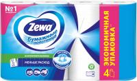 Бумажные полотенца Zewa 1x4рул -