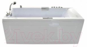 Ванна акриловая Triton Александрия 170x75 Стандарт (с гидромассажем)