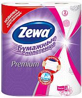 Бумажные полотенца Zewa Премиум Декор 2-слойные (1х2рул) -