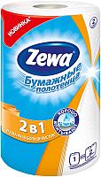 Бумажные полотенца Zewa 2 в 1 (1рул) -