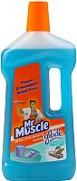 Чистящее средство для пола Mr. Muscle Универсал для уборки дома. Океанский оазис (750мл) -