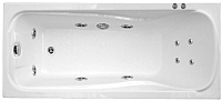 Ванна акриловая Triton Катрин 170x70 Базовая (с гидромассажем) -