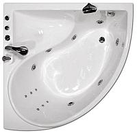 Ванна акриловая Triton Синди 125x125 Люкс (с гидромассажем) -