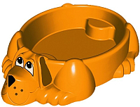 Песочница-бассейн PalPlay Собачка 373 (оранжевый) -