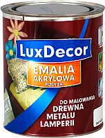 Эмаль LuxDecor Горячий шоколад (750мл, глянец) -