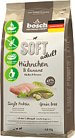 Корм для собак Bosch Petfood Soft Adult Chicken&Banana (1кг) -
