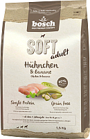 Корм для собак Bosch Petfood Soft Adult Chicken&Banana (2.5кг) -