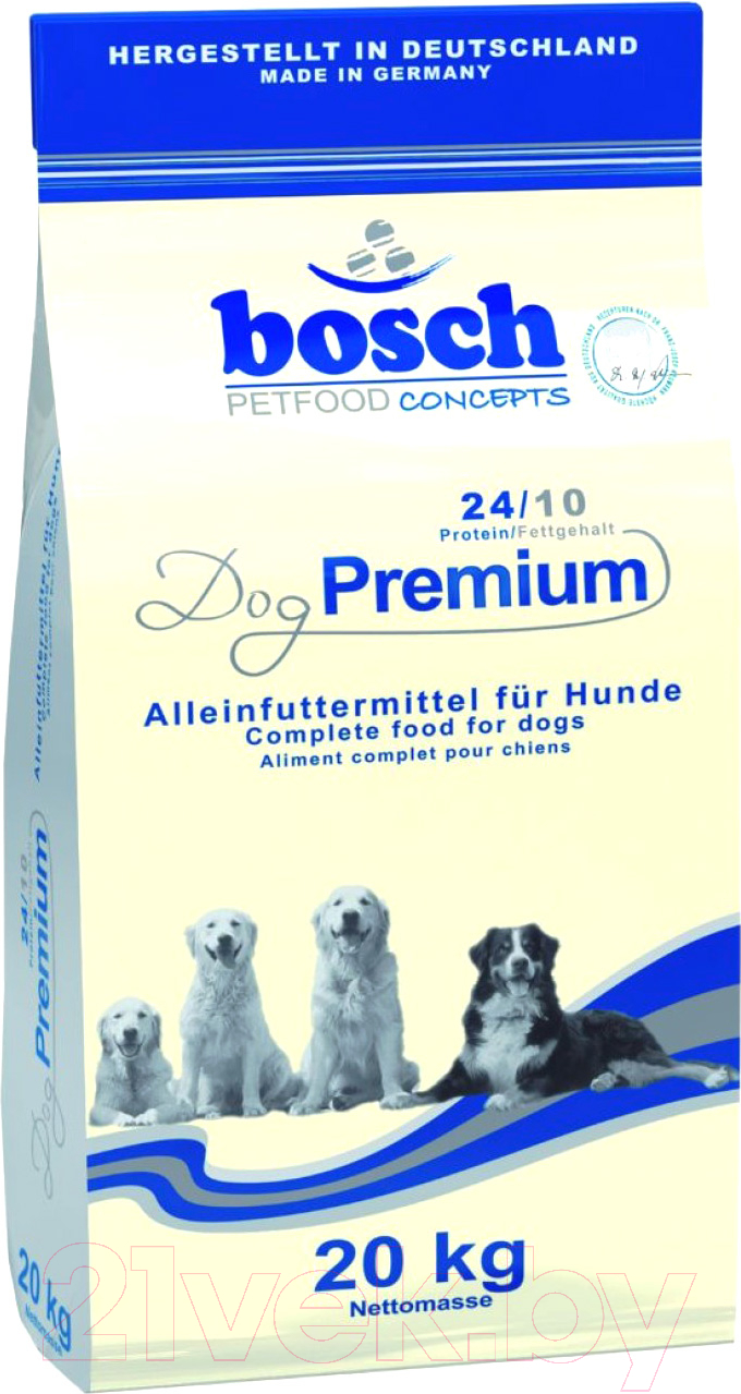 Купить Корм для собак Bosch Petfood, Dog Premium (20кг), Германия