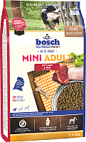 Корм для собак Bosch Petfood Mini Adult Lamb&Rice (3кг) -