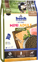 Корм для собак Bosch Petfood Mini Adult Poultry&Spelt (3кг) -