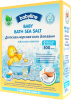 Соль для ванн детская Babyline DN 83 натуральная (500г) -