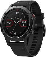Умные часы Garmin Fenix 5 Sapphire / 010-01688-11 -