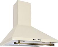 Вытяжка купольная Elikor MR5634GR (50, слоновая кость/бронза) -