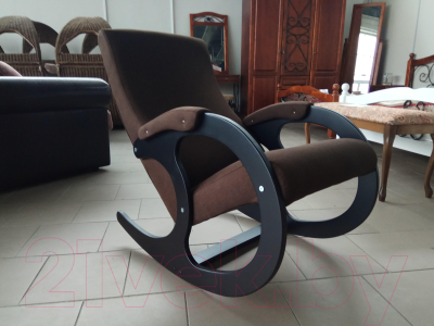 Кресло-качалка Calviano Бастион 4 (тканевая основа/united 8)