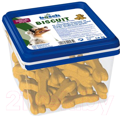 Лакомство для собак Bosch Petfood Biscuit Lamb&Rice (1кг)