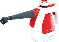 Пароочиститель Kitfort KT-918-1 (белый/красный) -