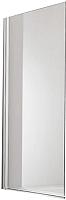 Стеклянная шторка для ванны Huppe Design Pure 501 / 512401-087-321 (матовое стекло) -