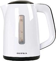 Электрочайник Supra KES-1728 (белый/серый) -