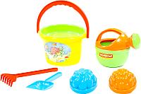 Набор игрушек для песочницы Полесье Набор №204 / 4368 -