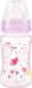 Бутылочка для кормления BabyOno Антиколиковая с широким горлышком / 403 (240мл, розовый) -